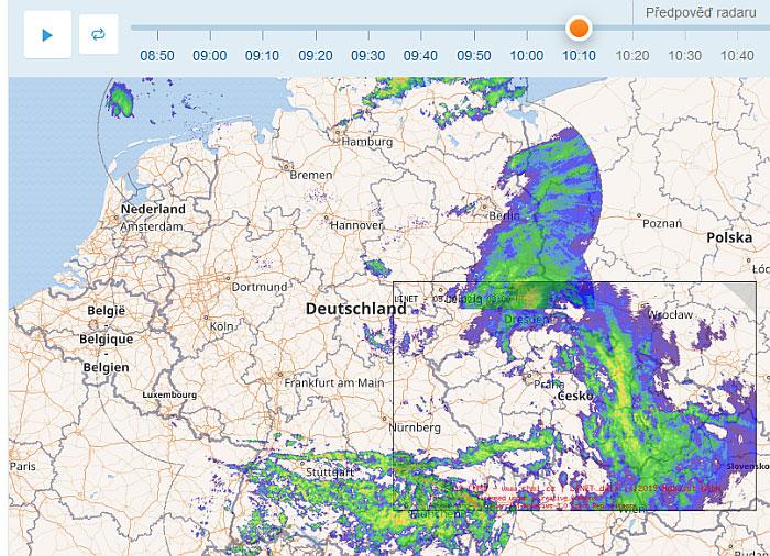 Chmi Radar Aktualni Radar Na Webu
